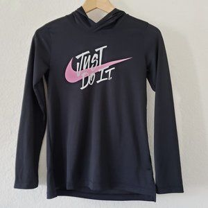 Nike Just Do It Lightweight Hooded Top - L